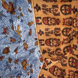 Gambian Display Fabric