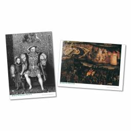 Henry VIII & His Six Wives Poster & Photopack