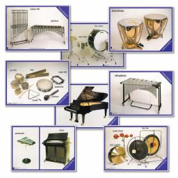 Percussion Instruments Posters