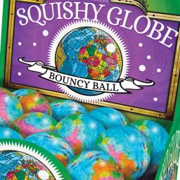 Squishy Globes (pack of 5)