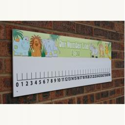 Jungle Numberline 0-30 Outdoor Board