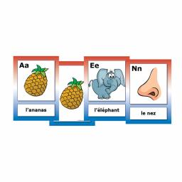 French Alphabet Flashcards