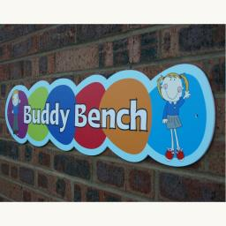 Buddy Bench Outdoor Board