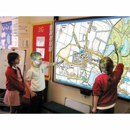 Our School Aerial Whiteboard Maps