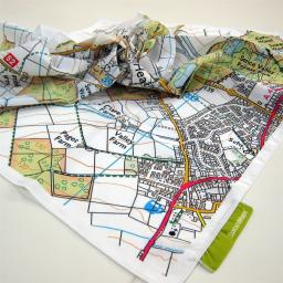 SplashMaps Fabric OS Map - Single