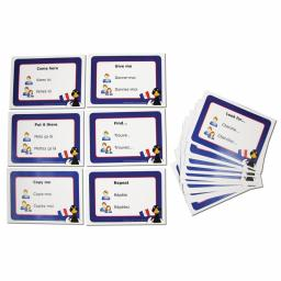 French Phrases Card Set