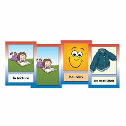 French Hobbies, Feelings & Clothes Flashcards