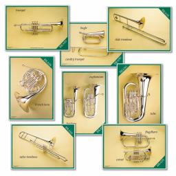 Brass Instruments Posters