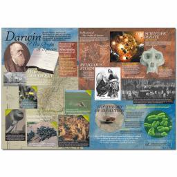 Darwin and The Origin of Species Poster
