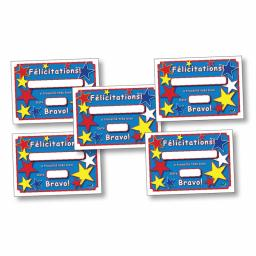 French Reward Certificates