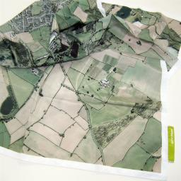 SplashMaps Fabric Aerial Map - Single