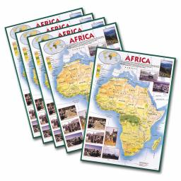 Map of Africa Deskmats