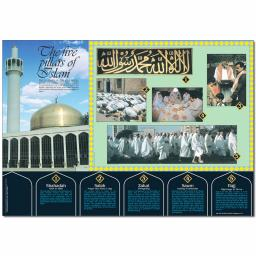 Five Pillars of Islam Poster