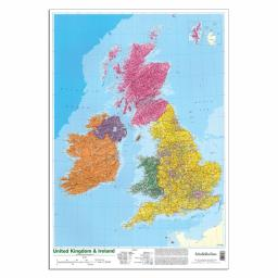 Map of the UK & Ireland