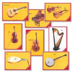 Stringed Instruments Posters
