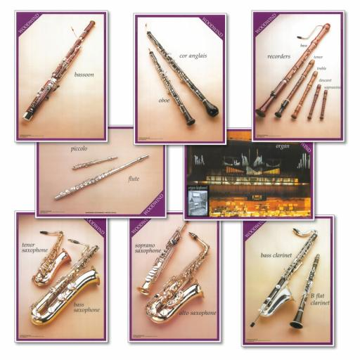 Woodwind Instruments Posters