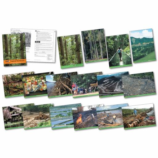 Tropical Rainforest Photopack & CD Special Offer