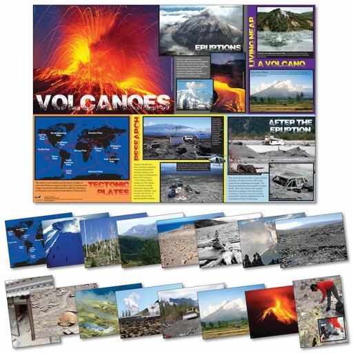 Volcanoes Poster & Photopack
