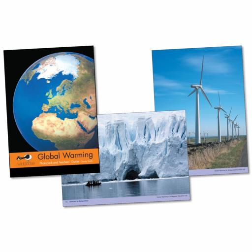 Global Warming Photopack & Activity Book
