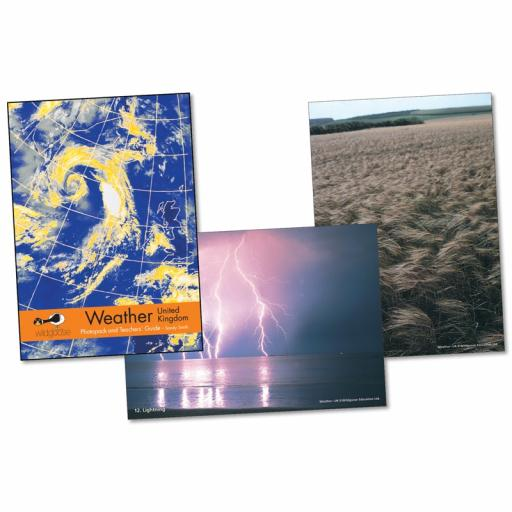 Weather UK Photopack & Activity Book