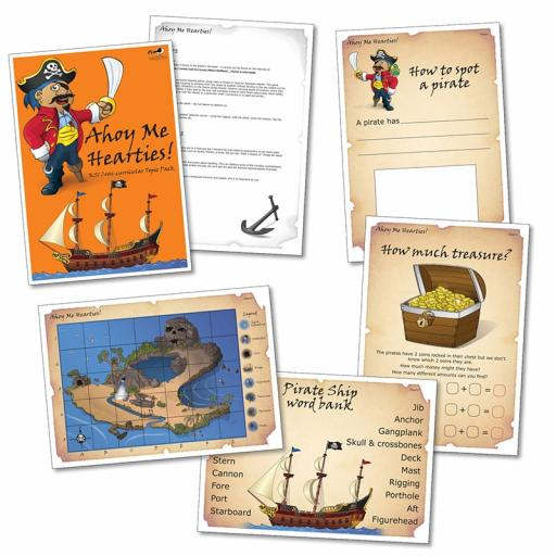 Ahoy Me Hearties! Topic Pack