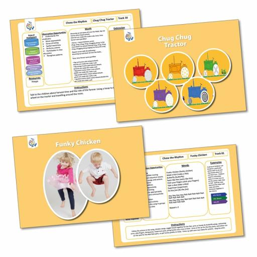 Chase the Rhythm Activity Cards