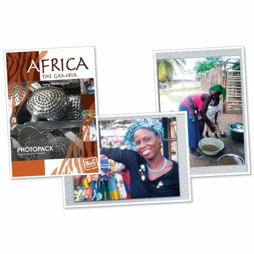 Using The African Artefacts Photopack