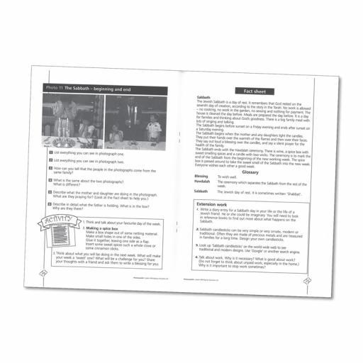 Judaism Photopack & Activity Book