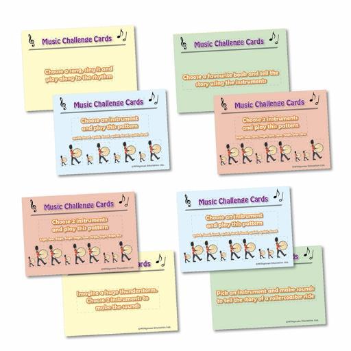 Music Challenge Cards