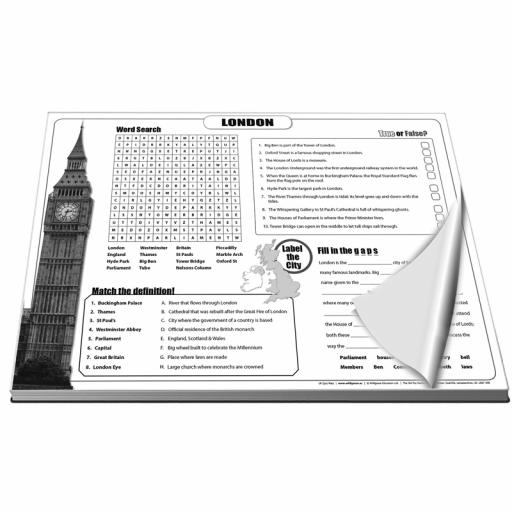 UK Quiz Pads
