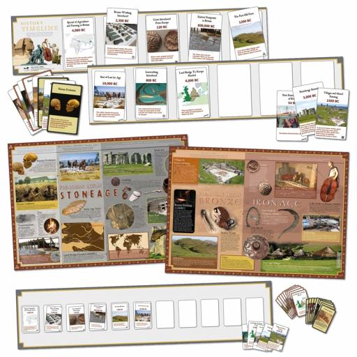 Stone Age to Iron Age Interactive Timeline (Class Pack)