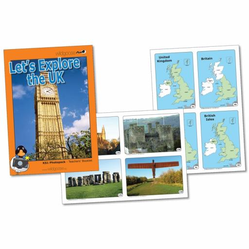 Let's Explore The United Kingdom Photopack
