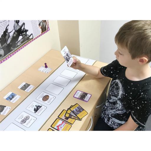 Roman Britain Interactive Timeline - Desktop Game