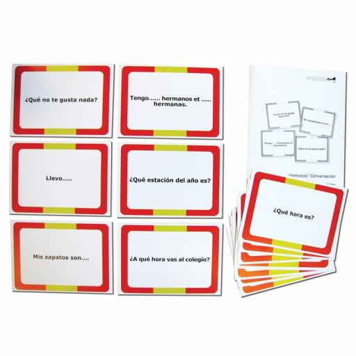 Spanish Conversation Cards