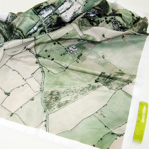 SplashMaps Fabric Aerial Map - Pack of 3