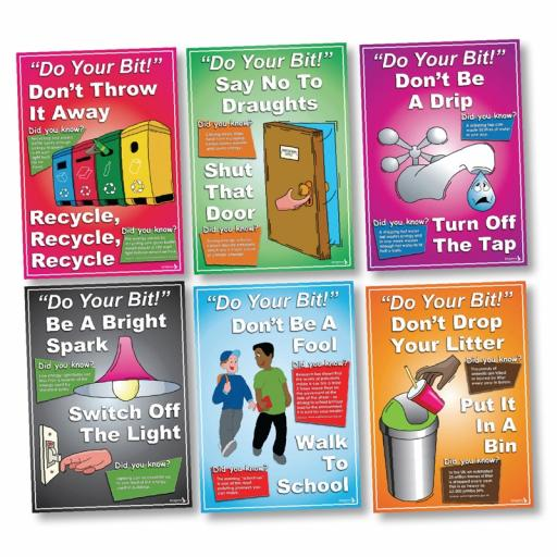 Going Green: Do Your Bit Poster Set