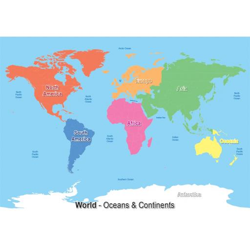3 World Maps