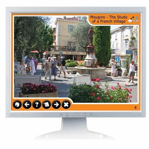 A Village In France: Mougins Digital Photopack