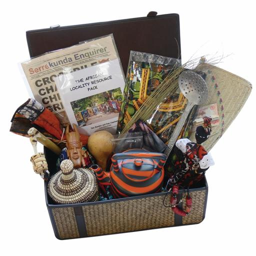 African Artefacts Box