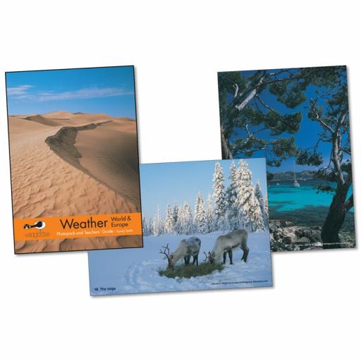 World & Europe Weather Photopack & Activity Book