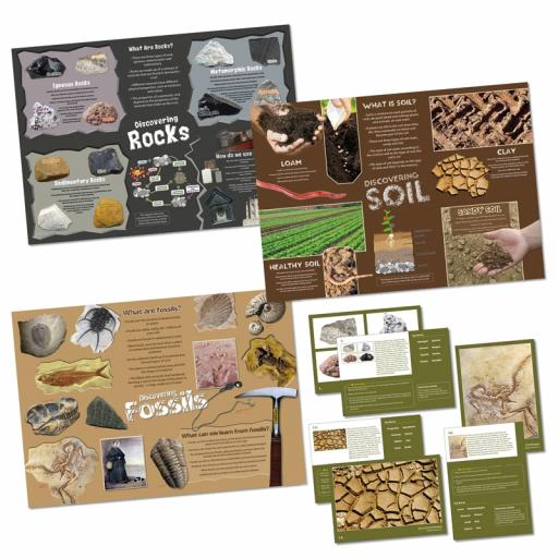 Rocks, Soil and Fossils Bundle