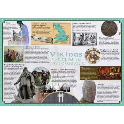 Vikings in Britain Poster Set