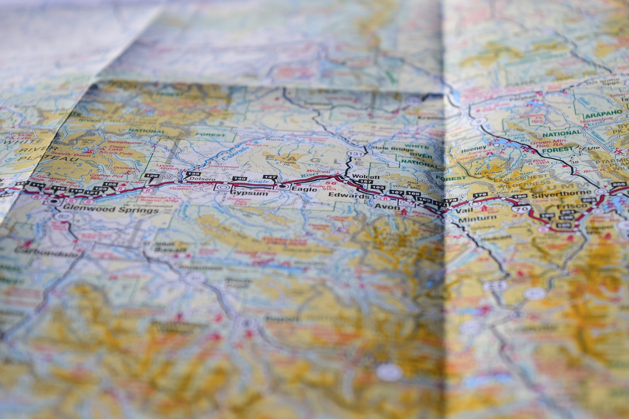 Washable, wearable, all-weather fabric maps