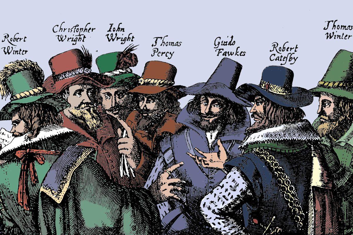 Gunpowder, Treason, & Plot