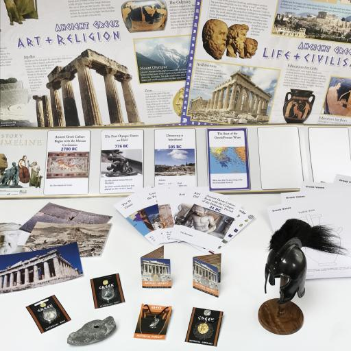 Ancient Greece Artefacts Collection
