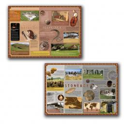 Stone Age to Iron Age Poster Set