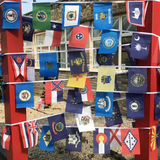 US State Flag Bunting