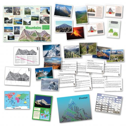 Mountains Curriculum Pack
