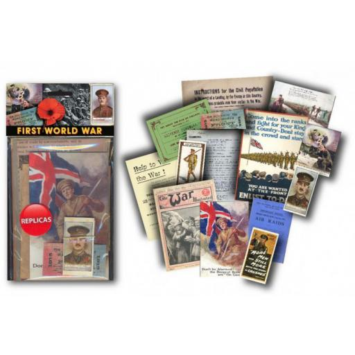 First World War Memorabilia Pack