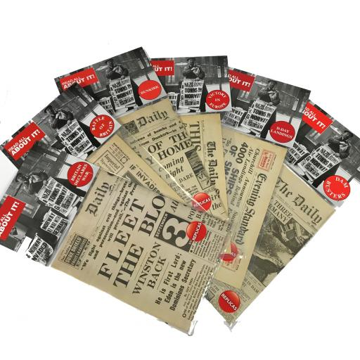 World War 2 Newspaper Pack